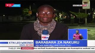 Nakuru: Wenyeji watii amri; Baadhi wamesalia manyumbani mwao kama ilivyoagizwa na serikali