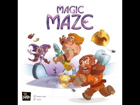 Magic Maze - A Forensic Gameology Review