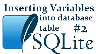 Inserting variables to database table - SQLite3 with Python 3 part 2