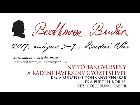 Beethoven Budán 2017 - Nyitóhangverseny - video preview image