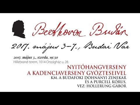 Beethoven Budán 2017 - Nyitóhangverseny - video preview image
