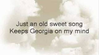 Georgia On My Mind (Ray Charles cover)