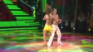 Maria Menounos & Derek Hough - Salsa Encore