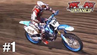 MX vs. ATV Untamed  - Xbox 360 / Ps3 Gameplay Playthrough X- Cross Tournament PART 1