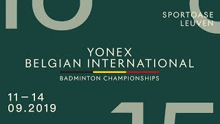 Lakshya Sen vs Victor Svendsen (MS, Final) - YONEX Belgian Intl. 2019