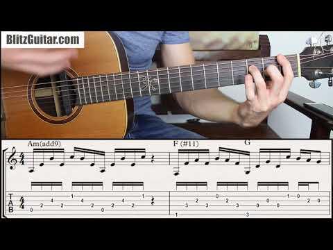 Badass Rhythmic Chord Progression on Guitar. Can you play it?