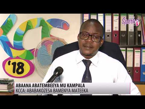 Abakozesa abaana okutembeeya mu Kampala bamenya mateeka - KCCA
