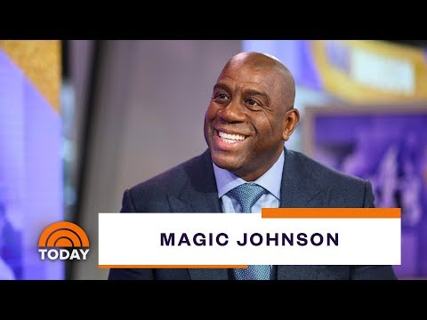 Magic Johnson On Turning 60, China And The NBA, His HIV, More   TODAY