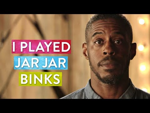 The actor who played Jar Jar Binks talks about the moment he almost committed suicide.