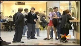 Just for Laughs Gags/Guy pinches girl in line