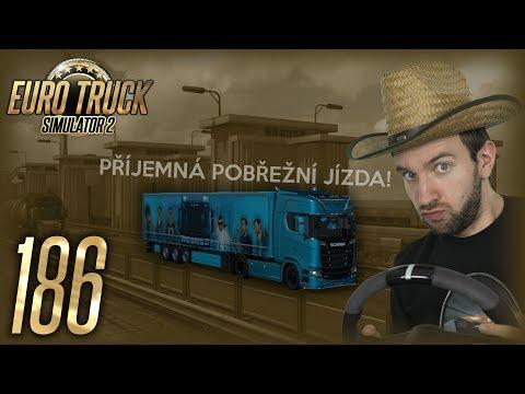 PŘÍJEMNÁ POBŘEŽNÍ JÍZDA! | Euro Truck Simulator 2 #186