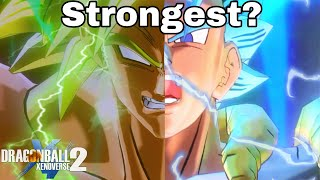 BROLY Or GOGETA! Who Is STRONGEST In Dragon Ball Xenoverse 2?