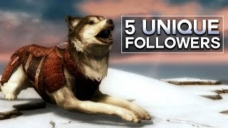 Skyrim - 5 Unique Followers