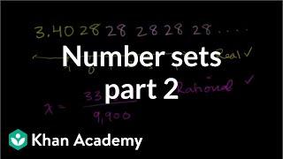 Number Sets 2