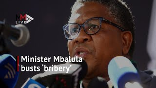 Mbalula chats to passengers after taxi driver arrested for 'bribery'