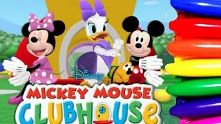 Disney Junior Mickey Mouse Clubhouse Coloring Page Fun For Kids To Learn Art