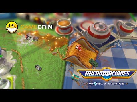 Micro Machines World Series Sneak Peek