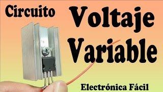 Gambar cover Cómo Hacer un Circuito Regulador de Voltaje Variable (muy fácil de hacer)