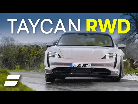 NEW Porsche Taycan RWD Review: More Fun Than Petrol? 4K