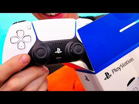 PS5 - Unboxing the DualSense Controller! de