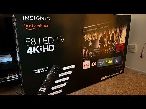"$200 2019 Black Friday 4K HDR TV!? [Insignia 58"" Best Buy] [Calibration/Setup/Walkthrough/GamingTest"