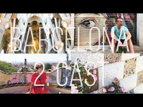 Park Guell, Sagrada Familia a litry sangrie ♥ Barcelona 2/2