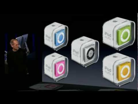 Apple Music Event 2010 - iPod Shuffle 4th Generation Introduction