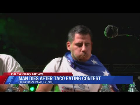 World Taco Eating Championship canceled after man dies, Grizzlies says