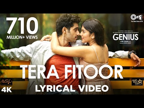 Download Tera Fitoor Lyrical - Genius | Utkarsh Sharma, Ishita Chauhan | Arijit Singh | Himesh Reshammiya HD Video