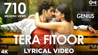 Tera Fitoor Lyrical - Genius | Utkarsh Sharma, Ishita Chauhan
