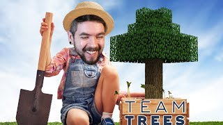 Let's Plant 20 Million Trees To Save The World In Minecraft