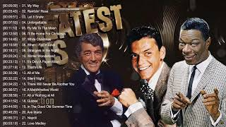 Nat King Cole Frank Sinatra Dean Martin: Best Songs – Old Soul Music Of The 50's 60's 70's