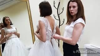Как сшить шнуровку на свадебном платье