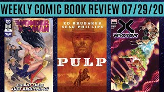 Weekly Comic Book Review 07/29/20