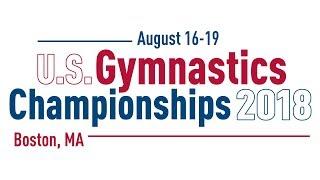 2018 U.S. Gymnastics Championships - Junior Women - Day 2