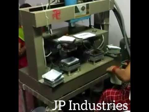 Hydraulic 4 Die Paper Plate Machine