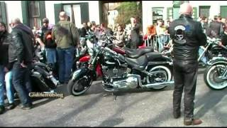 preview picture of video 'Harley Davidson, sfilata al carnevale 2012 di Dolo-Venezia'