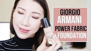 測試一天: ARMANI POWER FABRIC 粉底| Bethni Y