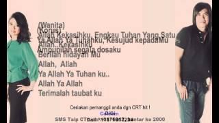 Eddie Hamid & Wanie   Ku Sujud Pada Mu (Lirik)