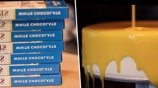 Mirror Glaze Cake Review- Buzzfeed Test #78