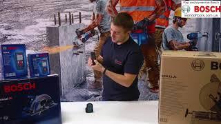Лазерный дальномер Bosch GLM 40 + чехол (0601072900) - видео 1