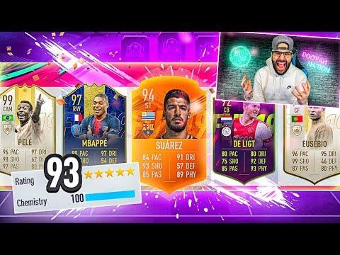 OMG I GOT A 193 FUT DRAFT! FIFA 19 Ultimate Team HIGHEST RATED DRAFT!