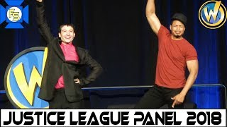Justice League (Ezra Miller, Ray Fisher) Panel - Wizard World Philadelphia 2018