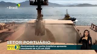 Cresce movimentação nos portos brasileiros
