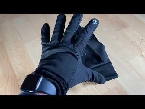Lzfitpot Handschuhe Winterhandschuhe bis zu -40℃ Handschuhe Touchscreen fähig unboxing und Anleitung