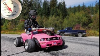 Barbie Car Turbo #3 Tuning and Hitting the Streets