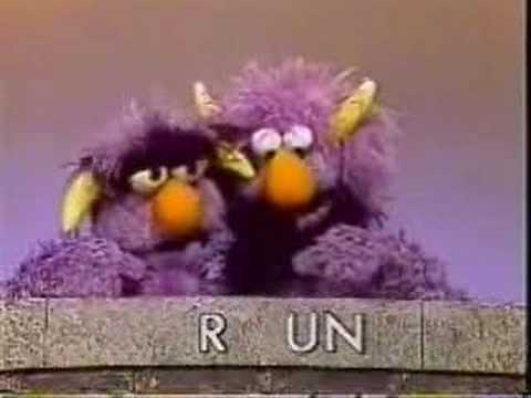 Sesame Street - The Two-Headed Monster finds a phone