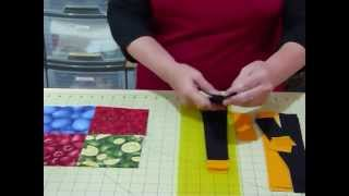 """How to make a Simply Sashed 4-patch quilt using 5"""" squares - Quilting Tips & Techniques 101"""