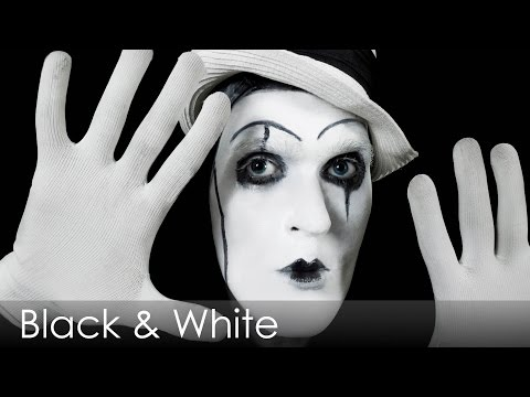Black & White thema tijdens oud & nieuw
