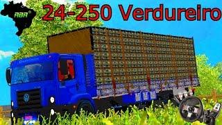Euro Truck Simulator 2 - Volkswagem Constellation 24-250 Verdureiro - Mapa RBR- Logitech G27